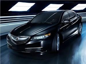 Озвучены рублевые цены на новый премиальный седан Acura TLX