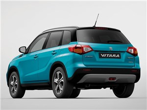 Вызов скуке Vitara - Suzuki Vitara 2015 вид сзади