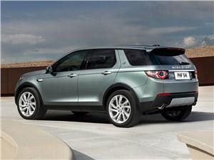Достать облако Discovery Sport - Land Rover Discovery Sport 2015 вид сзади сбоку