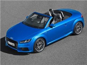 Предпросмотр audi tt roadster 2015 вид сверху