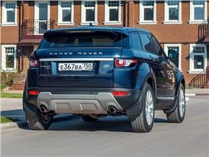 Предпросмотр land rover range rover evoque 5-door 2013 вид сзади