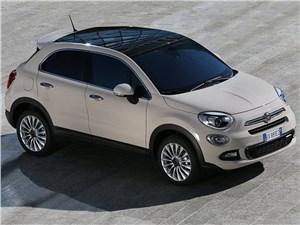 Fiat 500X - Fiat 500X 2015 вид спереди сверху