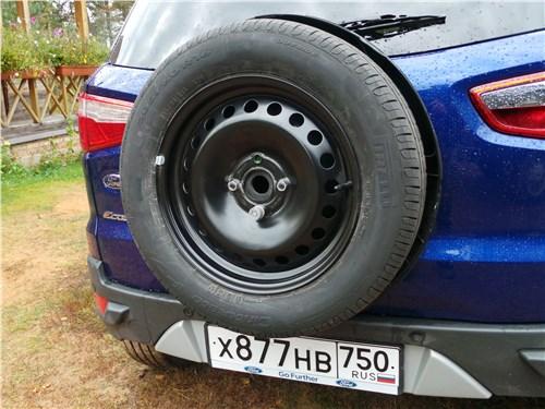 Ford EcoSport 2013 запасное колесо