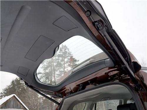 Toyota RAV4 2016 дверь багажного отделения