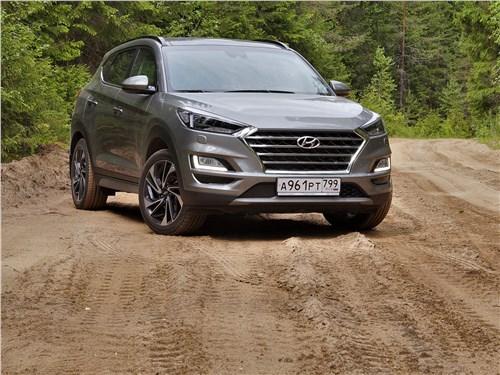 Hyundai Tucson 2019 вид спереди