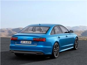Комфорт круглый год (Audi A6 Avant Quattro, BMW 5 Series Touring XiA, Mercedes-Benz E-Klasse 4-Matic, Chrysler 300C AWD Touring, Volvo V70) A6 - Audi A6 2015 вид сзади