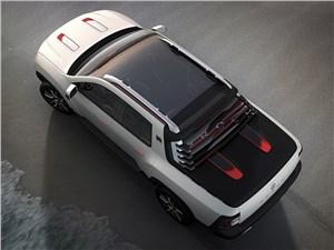 Предпросмотр renault duster oroch concept 2014 вид сверху