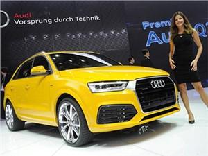 В Дейтроте дебютировал обновленный Audi Q3