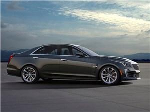 Cadillac CTS-V 2016 вид сбоку
