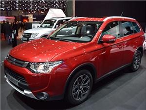 Обновленную версию Mitsubishi Outlander начали выпускать в России