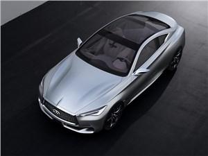 Предпросмотр infiniti q60 concept 2015 вид спереди сверху