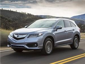 В Америке начались продажи нового Acura RDX