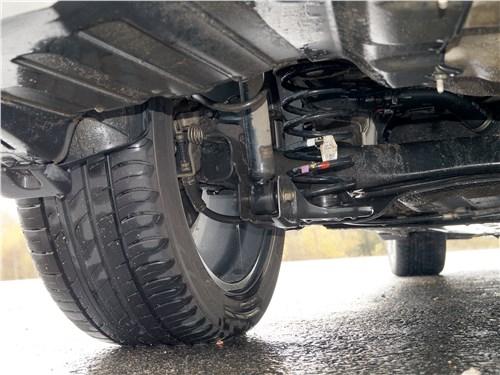 Hyundai Elantra 2019 задняя подвеска