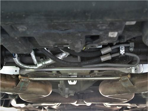 Land Rover Range Rover Sport SVR (2018) под днищем