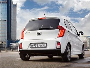 Малыши (Chevrolet Spark, Daewoo Matiz, Fiat Panda, Kia Picanto, Peugeot 107) Picanto - Kia Picanto 2015 вид сзади