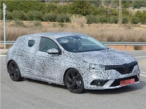 Новое поколение хэтчбека Renault Megane будет выглядеть роскошнее, чем мы привыкли
