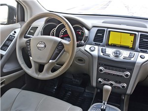 Nissan Murano 2011 салон