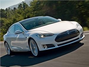 В тестах Consumer Reports электрокар Model S набрал 103 балла из 100