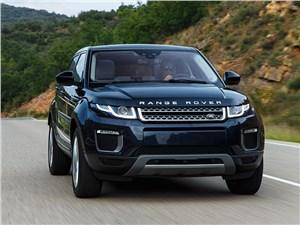 Land Rover Range Rover Evoque 2016 вид спереди