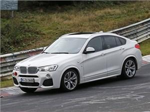 Премьера обновленного BMW X4 M40i состоится уже в этом году