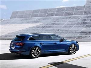 Renault Talisman Estate - Renault Talisman Estate 2016 вид сбоку сзади