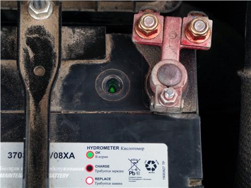 Предпросмотр haval h2 2014 аккумулятор