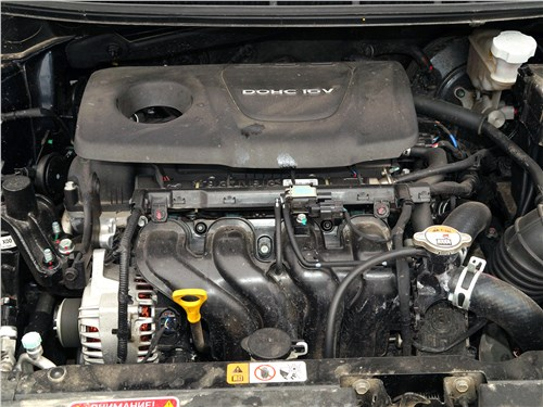 Предпросмотр kia cerato 2016 двигатель