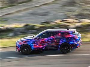 Предпросмотр jaguar f-pace 2016 вид сбоку