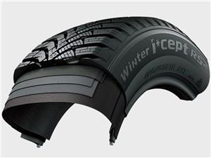 Кремниевая смесь в конструкции шины сохраняет эластичность при низких температурах