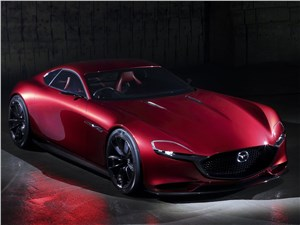 Предпросмотр mazda rx-vision concept 2015 вид спереди