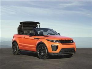 Предпросмотр land rover range rover evoque convertible 2016 вид спереди