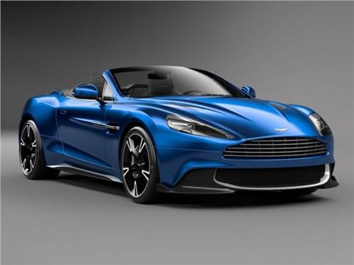 Новость про Aston Martin Vanquish - Aston Martin представил новую версию Vanquish S