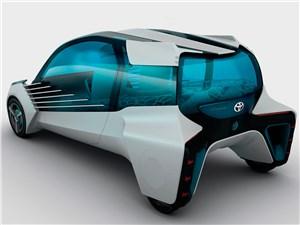 Предпросмотр toyota fcv plus concept 2015 вид сзади