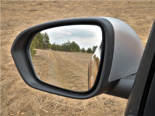 Предпросмотр renault duster (2021) боковое зеркало