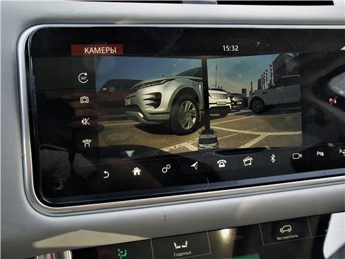 Land Rover Range Rover Sport SVR (2018) монитор