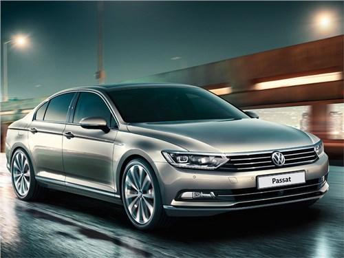 Volkswagen Passat стал дешевле на 40 тысяч рублей