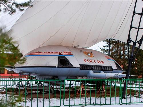 Полноразмерный макет «летающей тарелки» ЗКИП – зрелище необычное и редкое