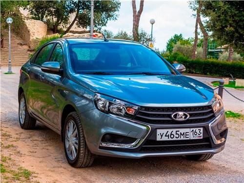 Lada Vesta получила высший балл в российском независимом краш-тесте