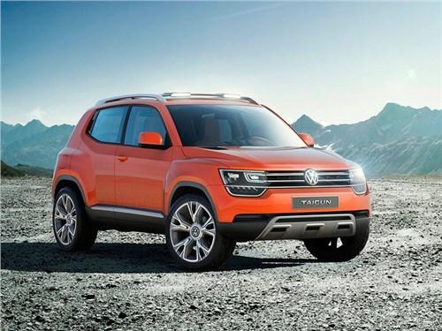 Volkswagen отказался от серийного производства Taigun