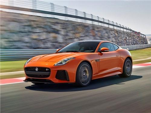 Серийный Jaguar F-Type SVR получил рублевый ценник