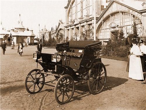 Единственное, дошедшее до нашего времени, фото первого отечественного автомобиля