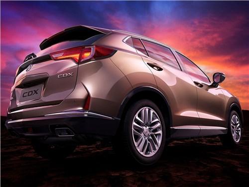 Acura CDX 2017 вид сзади сбоку