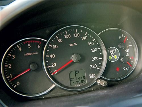 Mitsubishi Pajero Sport 2008 приборная панель