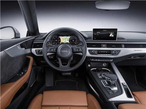 Audi A5 - Audi A5 Coupe 2017 салон
