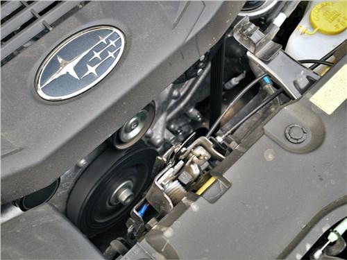 Subaru XV (2022) моторный отсек