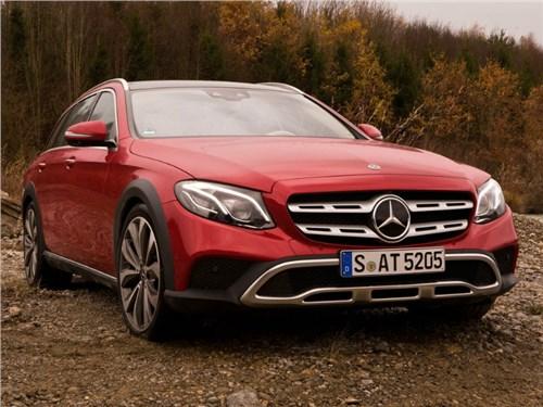 Mercedes-Benz готовится вывести на российский рынок новый E-Class All-Terrain