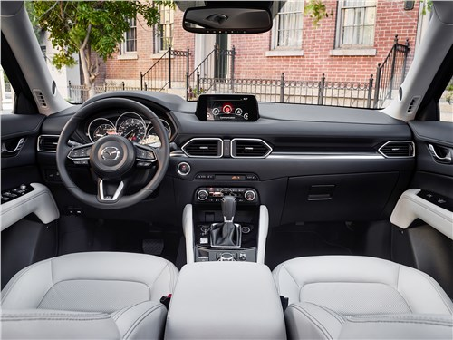 Без Трампа? Запросто! CX-5 - Mazda CX-5 2017 салон