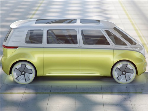 Предпросмотр volkswagen id buzz concept 2017 вид сбоку