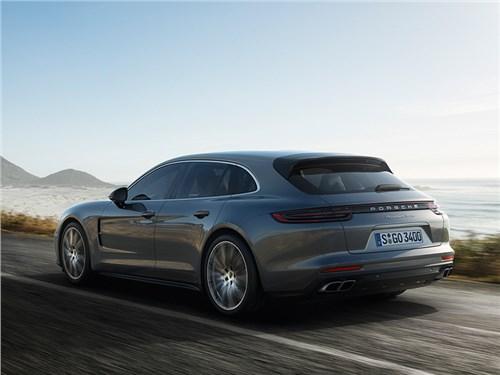 Новость про Porsche - Porsche Panamera Sport Turismo 2017