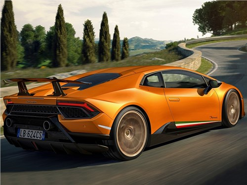 Премьера Lamborghini Huracan Performante